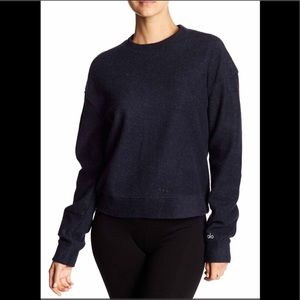 NWT Alo Yoga Carve Pullover Sweater XS
